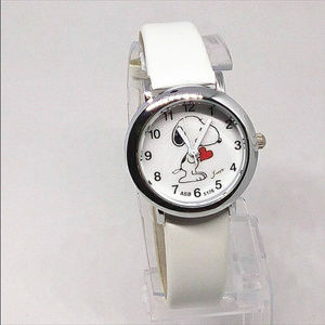 RESTOCK COMING Snoopy Watch White NWT